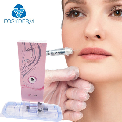 1ml 2ml 10ml Injectable Dermal Filler , Cross Linked Hyaluronic Dermal Fillers Ha